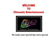 School Dance DJ Wilmington NC- Climactic Entertainment