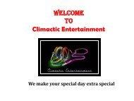 School Dance DJ Wilmington NC- Climactic Entertainment