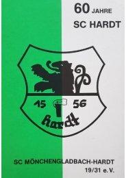 Sonderausgabe von 1991 - 60 Jahre SC Hardt -