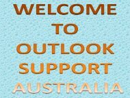 Outlook Support Australia 1-800-614-419|All Time Service