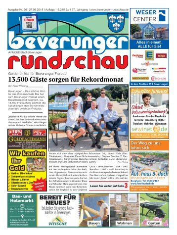Beverunger Rundschau 2018 KW 26