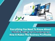 Everything You Need To Know About Website Design And How It Makes Business Profitable