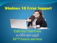 Windows 10 Error Support +1-888-720-4956