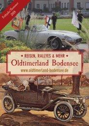 Oldtimerland Bodensee Booklet Frühjahr/Sommer 2018