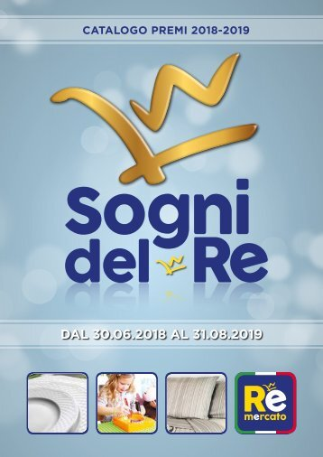 Catalogo Sogni del Re 2018