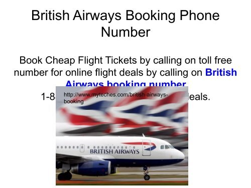 british airways toll free phone number