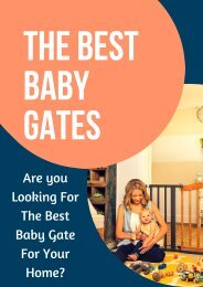 Reviews for Pet Gates and Baby Gates   Read Here