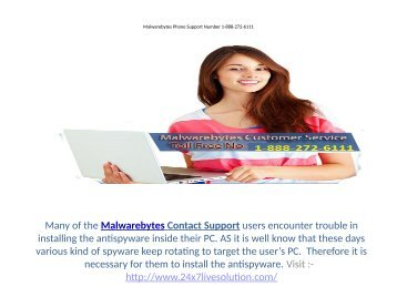 Malwarebytes Contact Number For Customer Service  1-888-272-6111