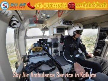 Receive Air Ambulance in Kolkata at a Low-Cost by Sky Air Ambulance
