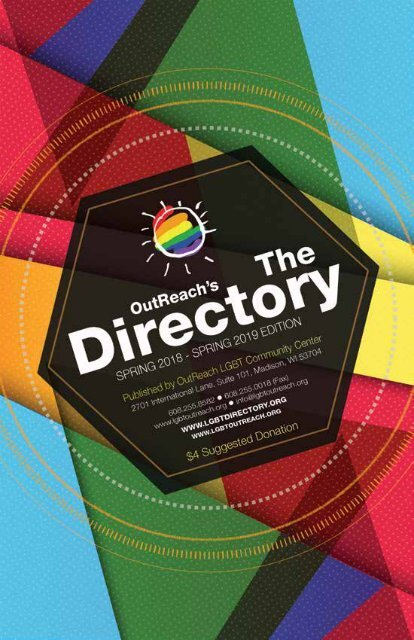 OutReach's The Directory 2018-2019