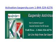 Kaspersky Antivirus  Support
