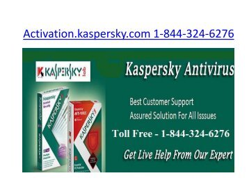Kaspersky Antivirus  Support