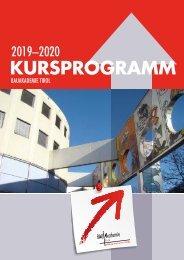 Bauakademie Tirol Kursprogramm 2019-20