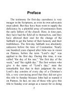The Complete Testimony of the Fathers of the First Three Centuries Concerning the Sabbath and First Day - J. N. Andrews - Page 2