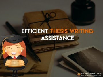 Ideal thesis paper help service