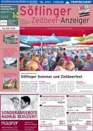 Soeflinger Zeitbeeranzeiger 2018