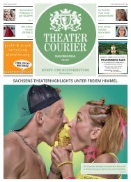 TheaterCourier Juli/August 2018