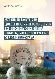 Weihnachtskarten Schweiz 2018