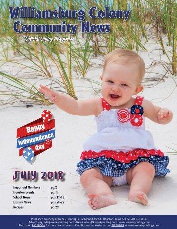 Williamsburg Colony July 2018