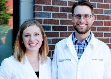 Portland dentists Dr. Molly Marshall and Dr. Matthew Kathan at their dental clinic Timber Dental East Burnside
