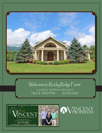 Welcome to Rocky Ridge Farm!