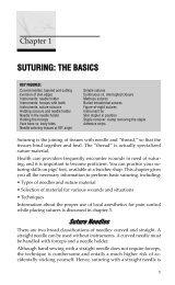 Suturing: The Basics
