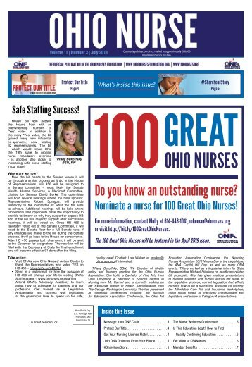 Ohio Nurse - July 2018
