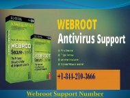 Webroot Support Number +1-844-874-7898
