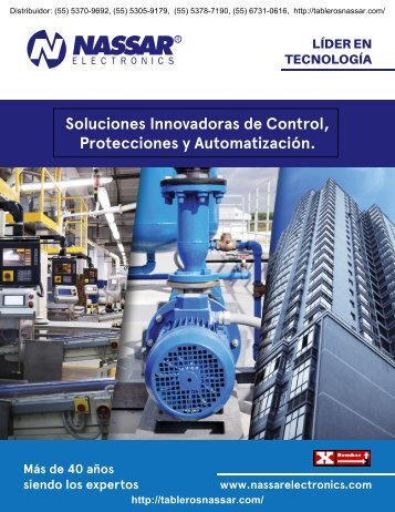 Catalogo Nassar Electronics 144 (2018) Distribuidor:  http://tablerosnassar.com/