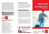 Meine Rechte als Flugpassagier - AK - Burgenland - Arbeiterkammer