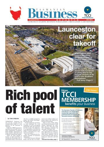 Tasmanian Business Reporter July 2018