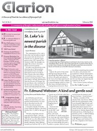 St. Luke's is newest parish in the diocese - Diocese of Fond du Lac