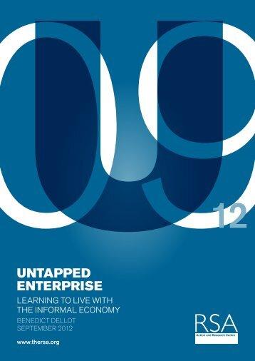 Untapped Enterprise report - RSA