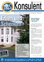 Konsulent, Ausgabe 19 Oktober 2008 - D.A.S. Österreichische ...