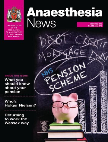 What you should know about your pension Who's Holger ... - aagbi