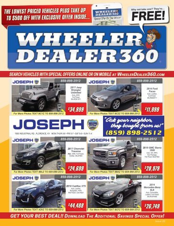 Wheeler Dealer 360 Issue 26, 2018