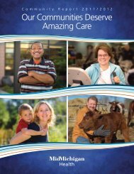 2012 Annual Report - MidMichigan Health
