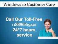 Windows 10 Customer Care +1-8886-819-401