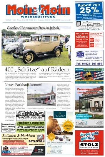 MoinMoin Schleswig 26 2018