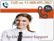 tplink Router Support+1-888-693-2062