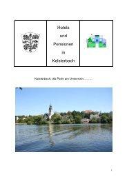 Hotels und Pensionen in Kelsterbach
