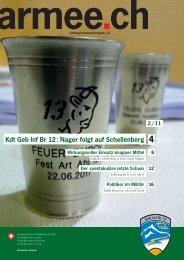 Kdt Geb Inf Br 12: Nager folgt auf Schellenberg 4 - Geb S Bat 6