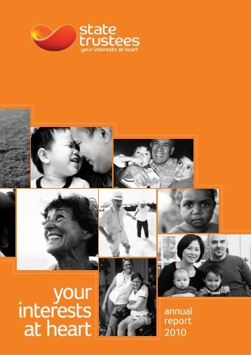 State Trustees Annual Report 2010