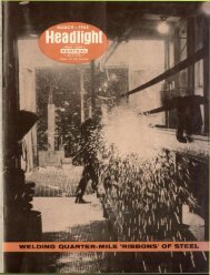 Headlight - Canada Southern Railway