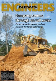 July 2012 - Engineers News - Operating Engineers Local #3