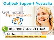 Outlook Support Australia 1-800-614-419|Capable Team