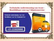 Technische ondersteuning van Avast Beschikbaar voor 247 klantenservice