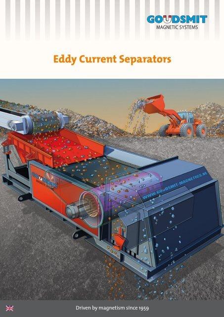 Virvelströmsseparatorer för återvinningsindustrin