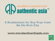 5 destinations for Day Trips from Ho Chi Minh City