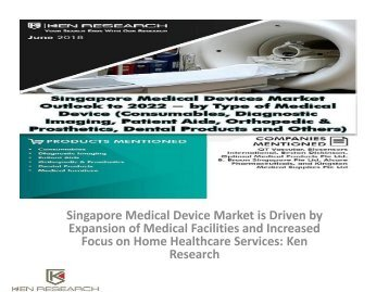 Medical Device Import Volume Singapore, Wound care Market Singapore, Opportunities Singapore Medical Device Industry, Medical Device Market Singapore : Ken Research